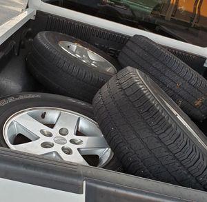 2017 Jeep Wrangler wheels for Sale in Alexandria, VA