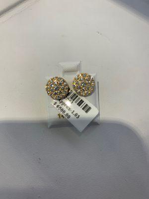 14k Gold Diamond Earrings for Sale in Los Angeles, CA