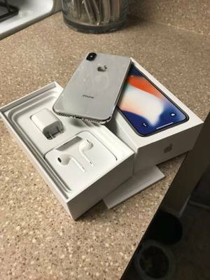 Phone X unlocked 256gb clean esn for Sale in San Diego, CA