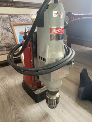 "Milwaukee 4206-1 120V AC Li-Ion 3/4"" Motor Corded Electromagnetic Drill Press for Sale in Westmoreland, TN"