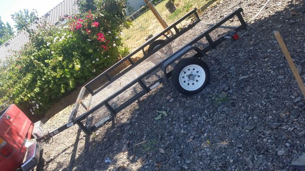 Trailer 8 ft 6 in by 5 ft. 1 1/2 inch hitch