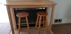 Table and bar stools for Sale in Tacoma, WA