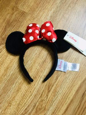 Disney Minnie Mouse Satin Bow EARS for Sale in Fremont, CA