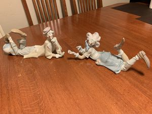 Lladro clowns girl and boy for Sale in Rancho Cucamonga, CA