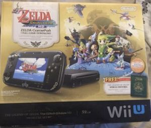 Nintendo Wii U- Legend of Zelda The Windwaker Special Edition for Sale in Glendale, AZ