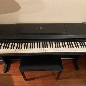 Yamaha Clavinova Electric Piano Keyboard for Sale in Half Moon Bay, CA