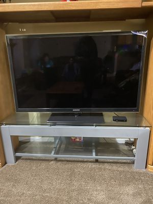 Samsung LED TV 55 inch with stand for Sale in Southgate, MI