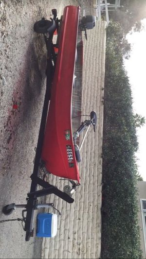 Fishing boat trailer and motor trades for Sale in Escondido, CA