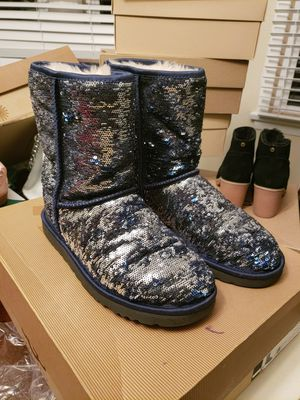 Blue sequin uggs for Sale in Seattle, WA