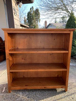 Solid wood bookcase for Sale in Portland, OR
