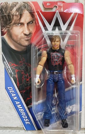 New WWE Dean Ambrose Action Figure. for Sale in Apopka, FL