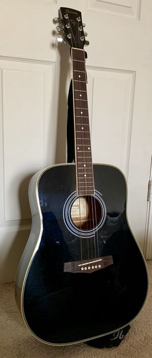 Black Ibanez PF4 Acoustic Dreadnought Guitar for Sale in Fairfax, VA