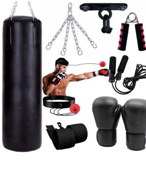 Best Punching Bag Kit (all black) for Sale in Odenton, MD