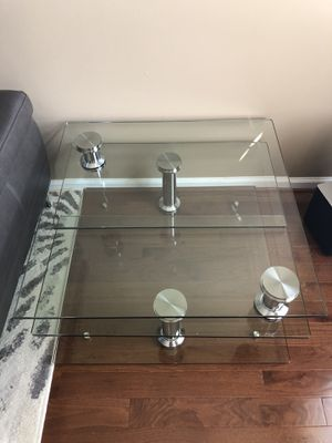 Chintaly Imports Motion Glass Coffee Table for Sale in Washington, DC
