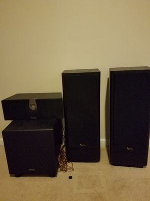Infinity speaker set in subwoofer for Sale in Gainesville, VA