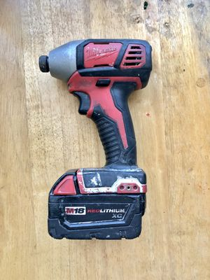 """🛠 MILWAUKEE 1/4"""" HEX IMPACT DRIVER 🛠 for Sale in Carson, CA"""
