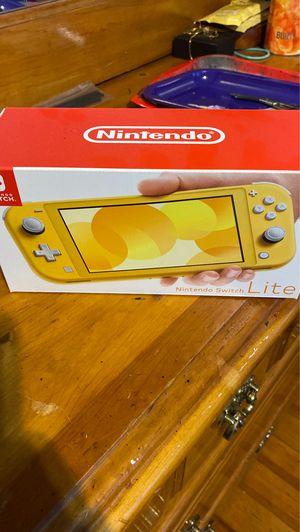 Nintendo Switch Lite(Yellow) for Sale in DORCHESTR CTR, MA