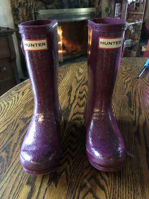 Girls Hunter Rain Boots for Sale in Fairfield, CA