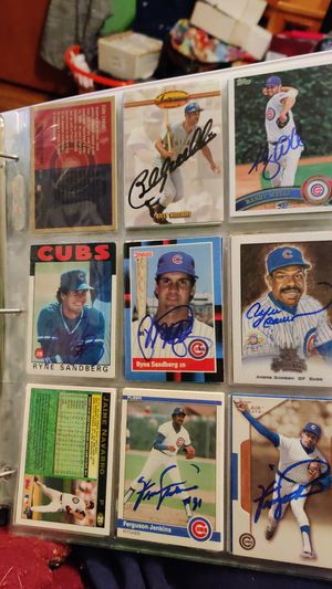 Chicago Cubs autographs for Sale in Chicago, IL