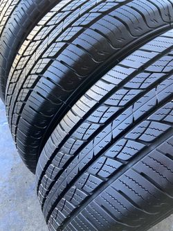 I'm selling this four tires. {link removed}/17 2) Hankook 2) westlake in Good Condition for Sale in Covina,  CA