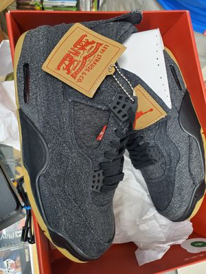 Nike Air Jordan Levis' Retro4 A02571-001 Sneakers Size 10.5 US for Sale in TEMPLE TERR, FL