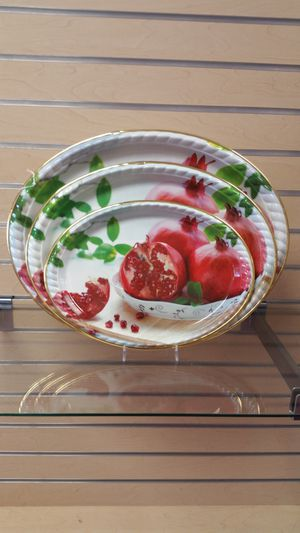 3pc Serving Tray set ( NEW ) housewares, Kitchenware, dinnerware for Sale in Holladay, UT