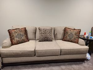 Bobs beige sofa for Sale in East Meadow, NY
