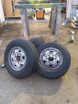 6x6.5 Stock Mazda B2200 Wheels for Sale in Bremerton,  WA