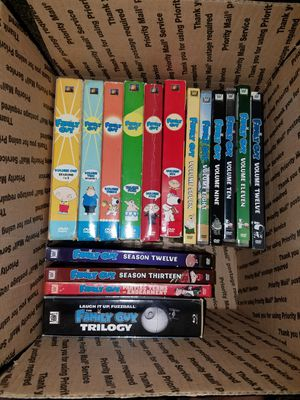 Set of family guy DVDs for Sale in Acampo, CA