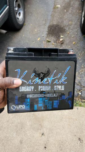 Kinetik HC600 battery for Sale in East Dundee, IL