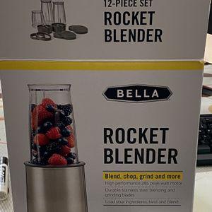 Bella 12 Piece Rocket Blender for Sale in Virginia Beach, VA