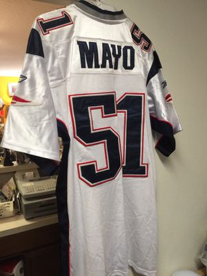 Patriots Stitched Mayo Size 48 Jersey for Sale in Washougal, WA