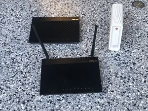 Arris Modem and 2 x ASUS Wireless Routers for Sale in Las Vegas, NV