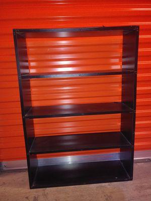 Black shelf Organizer stand bookcase wood falls Church for Sale in Falls Church, VA