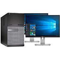 DELL DESKTOP-COMPUTER WITH DUAL MONITOR DEALS! f for Sale in Fort Lauderdale, FL