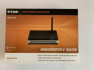 D-Link WBR-2310 802.11g WiFi router for Sale in Los Angeles, CA
