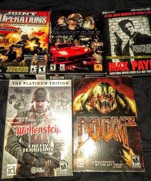 5 PC games for Sale in Pleasanton, CA