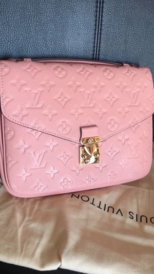 Pink leather Crossbody tophandle messenger bag for Sale in Los Angeles, CA