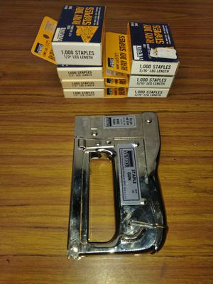 Stapels and staple gun for Sale in Niles, MI