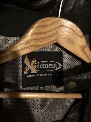 Heavy leather motorcycle jacket & vest for Sale in Avondale, AZ