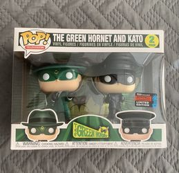 The Green Hornet and Kato FUNKO POP EXCLUSIVE 2019 FALL CONVENTION LIMITED EDITION 2PACK for Sale in Brewster,  NY