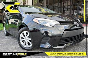2015 Toyota Corolla for Sale in Miami, FL