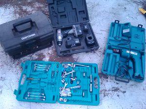 Makita driver & craftsman 18v drill tool lot for Sale in Chesapeake, VA