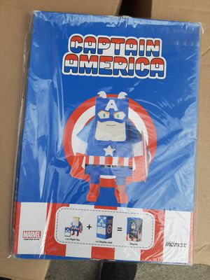 Marvel's Captain America paper toy for Sale in Alta Loma, CA
