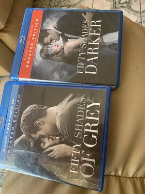 Fifty Shades Grey Bundle dvd Blueray for Sale in San Bernardino, CA