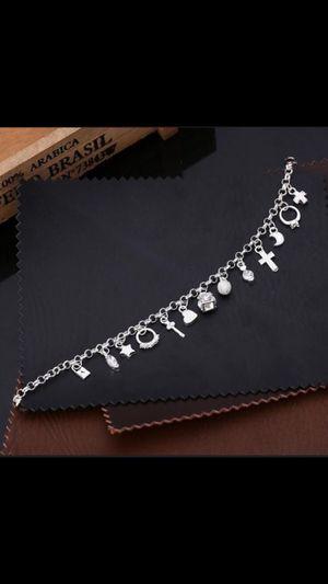 925 Starling Silver charm bracelet $55 for Sale in Burbank, CA