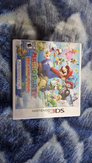 Mario Party Island Tour for 3ds for Sale in Litchfield Park, AZ