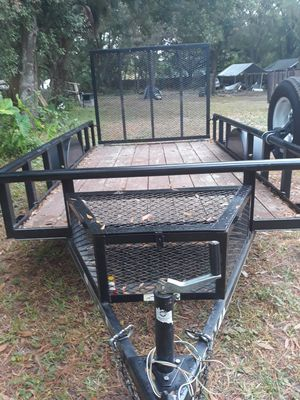 5.5x10 utility trailer for Sale in Dover, FL