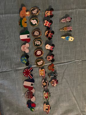 Lot of 30 Disney Pins for Sale in Aston, PA
