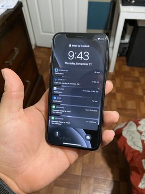 iPhone X 64GB for Sale in Houston, TX